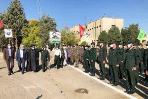 برگزاری صبحگاه مشترک نیروهای مسلح در سلماس